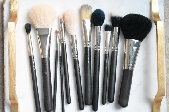 MAC, makeup, brushes, professional, artist
