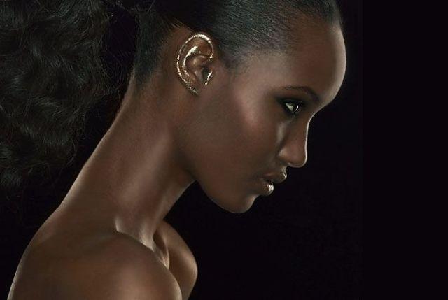 Ear, Makeup, Trend, Gold